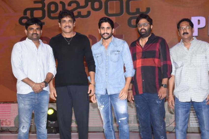 Shailaja Reddy Alludu Pre Release Event Photos
