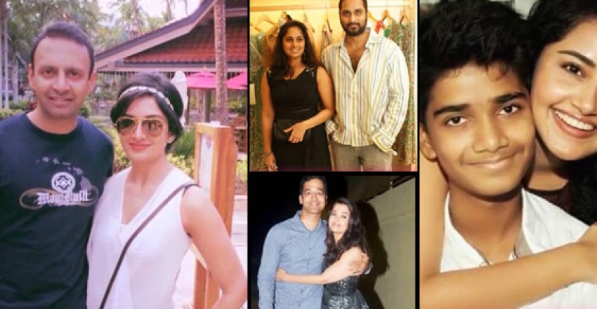 South Indian Actress with Their Brothers Photos