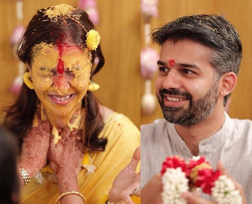 Swathi Reddy And Vikas Marriage Photos