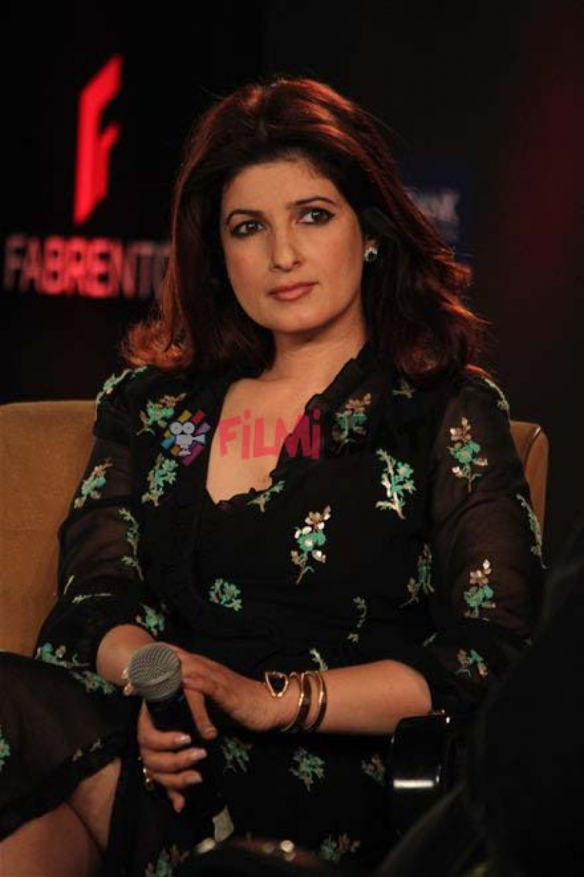 Twinkle Khanna At FICCI YFLO Session Pyjamas Are Forgiving In New Delhi Photos