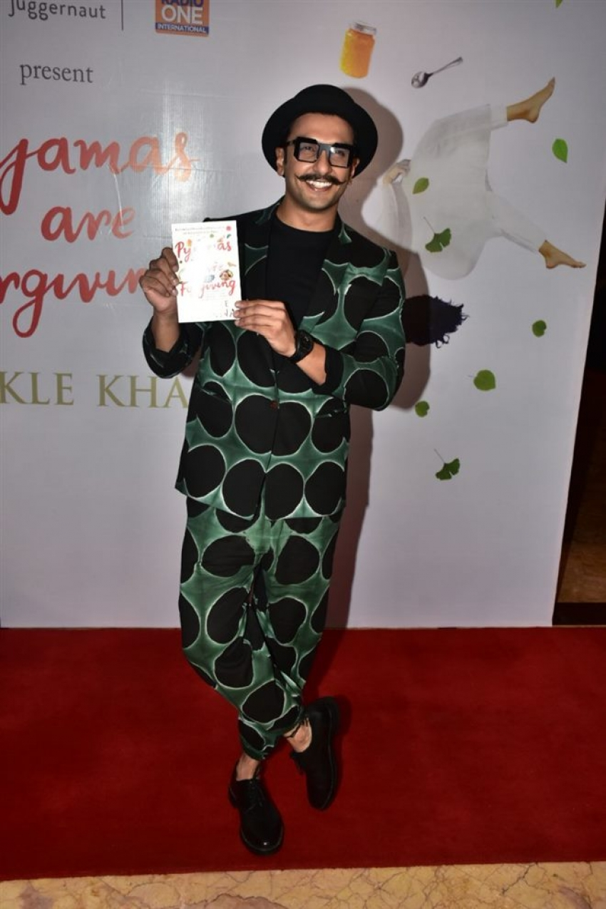 Twinkle Khanna Pyjamas are Forgiving Book Launch Event Photos