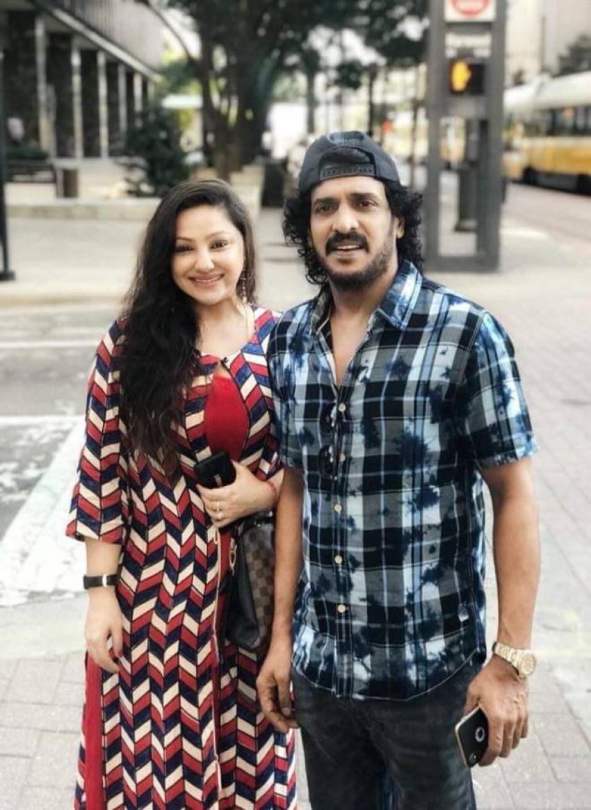 Upendra And Priyanka Visit To United States Photos