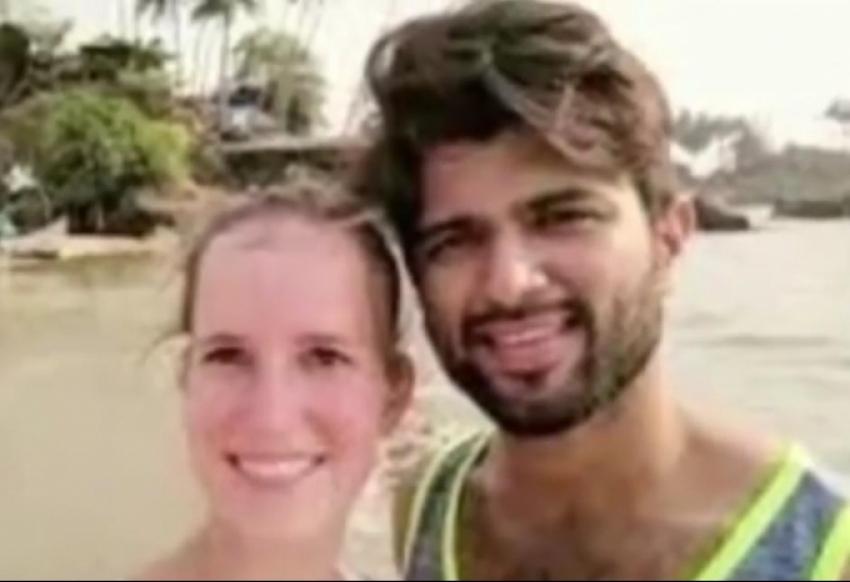 Vijay Devarakonda With His Foreign Love Vimmy Photos