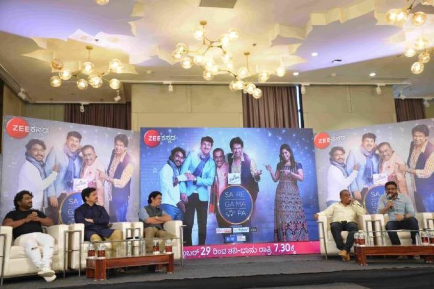 ZEE Kannada SA RE GA MA PA 15 Press Meet Photos