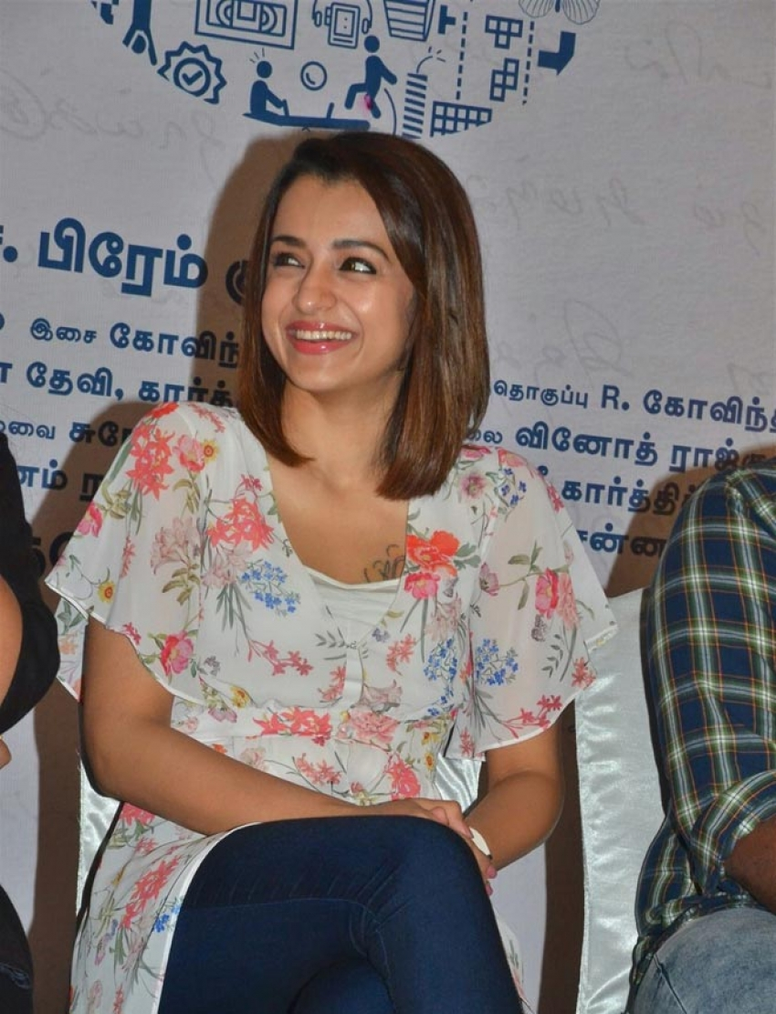 96 Movie Press Meet Photos