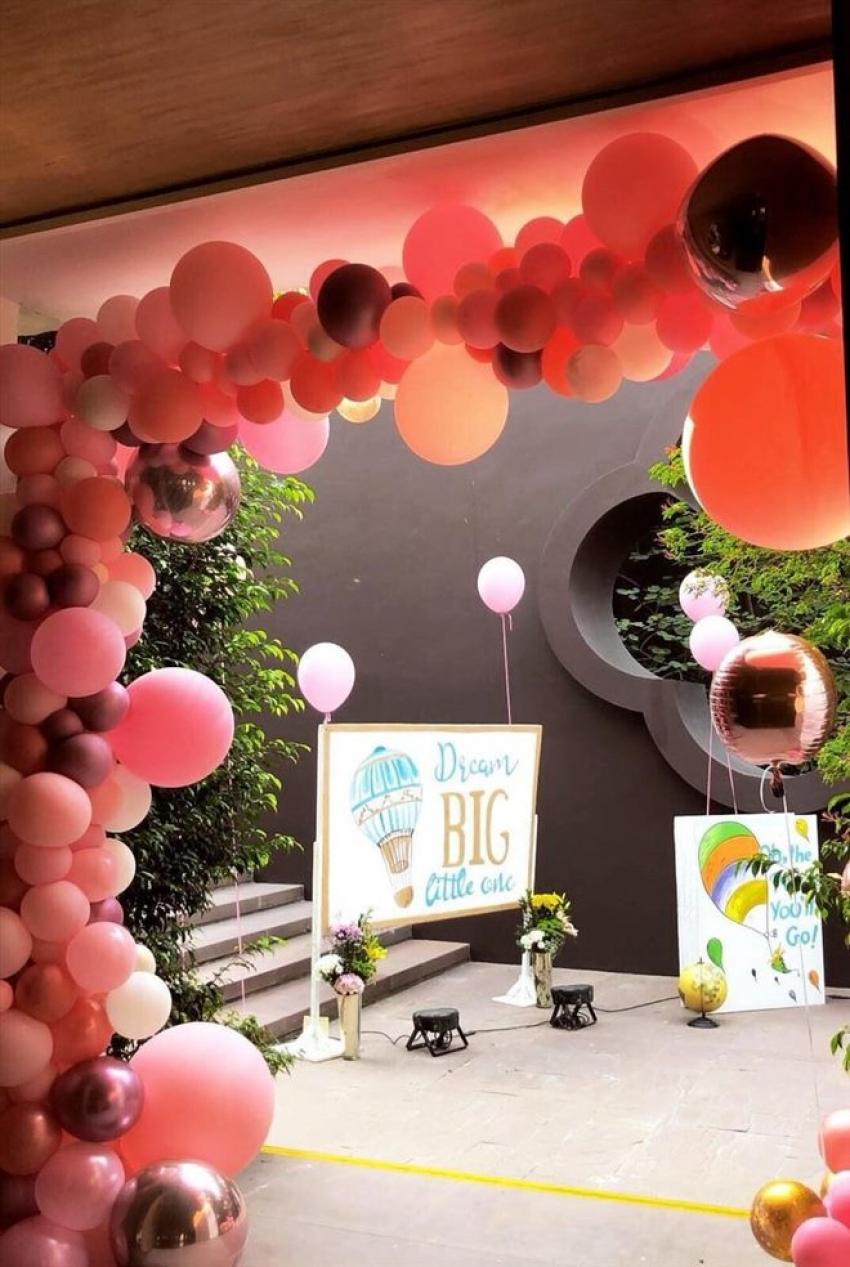 Actress Asin Daughter Arin's First Birthday Celebration Photos