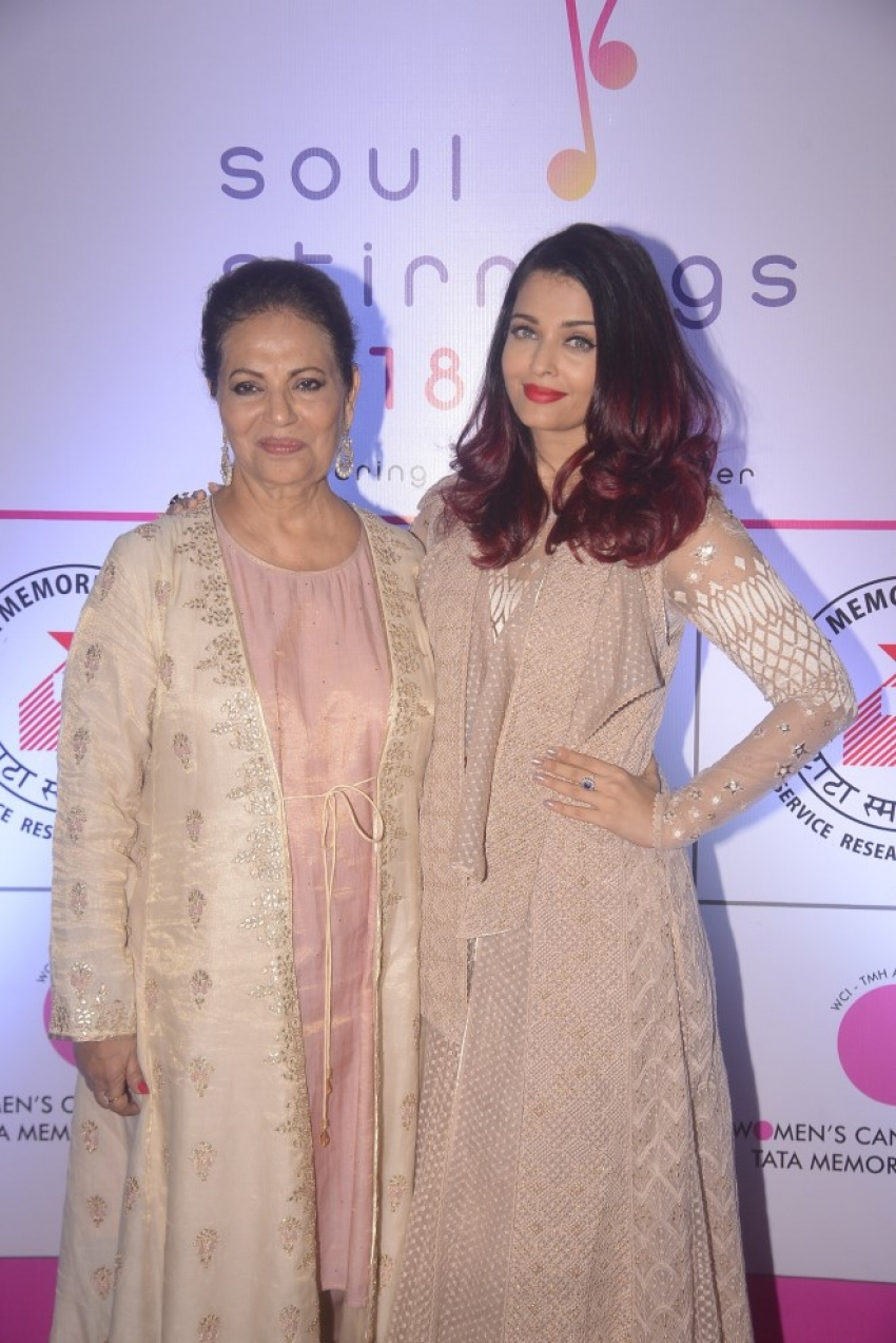 Aishwarya Rai Bachchan at fundraising event for underprivileged women with breast cancer Photos