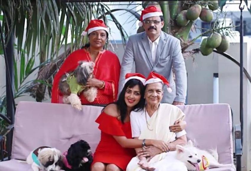 Amala Paul Family Photos