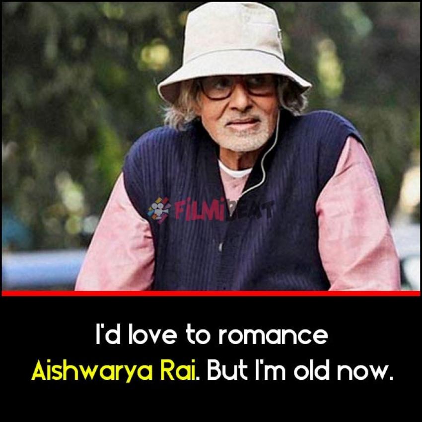 Amitabh Bachchan Birthday Special Quotes Photos