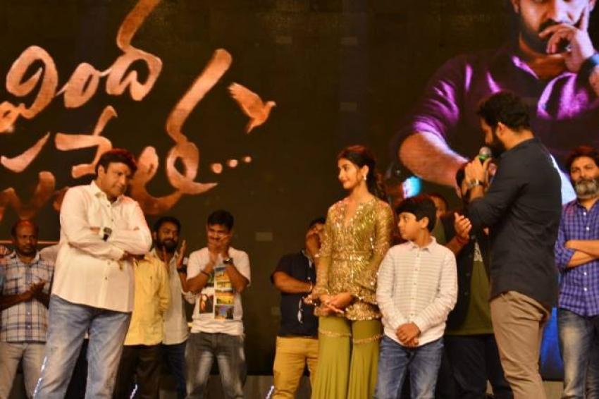 Aravinda Sametha Movie Success Meet Photos