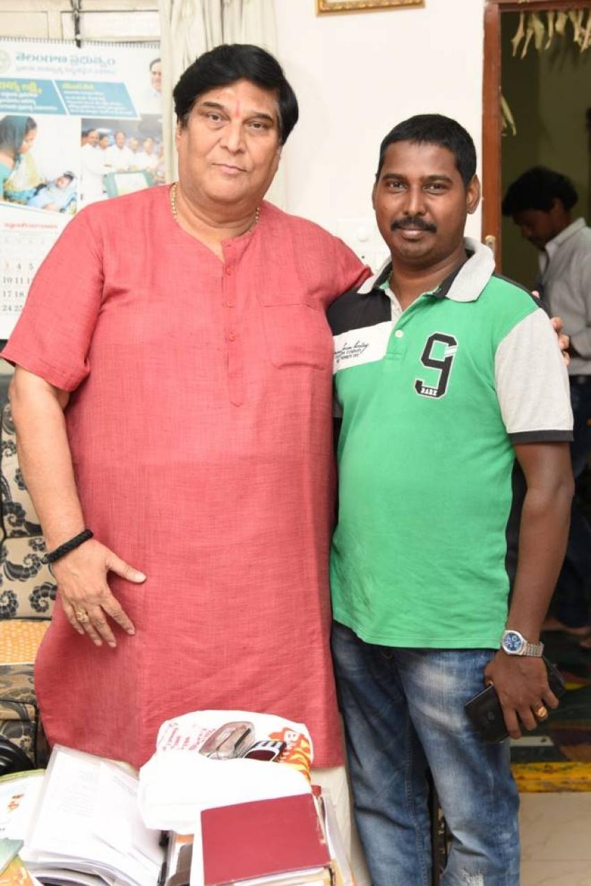 Bangari Balaraju Movie Team Meet K.V.Ramana Chary Photos