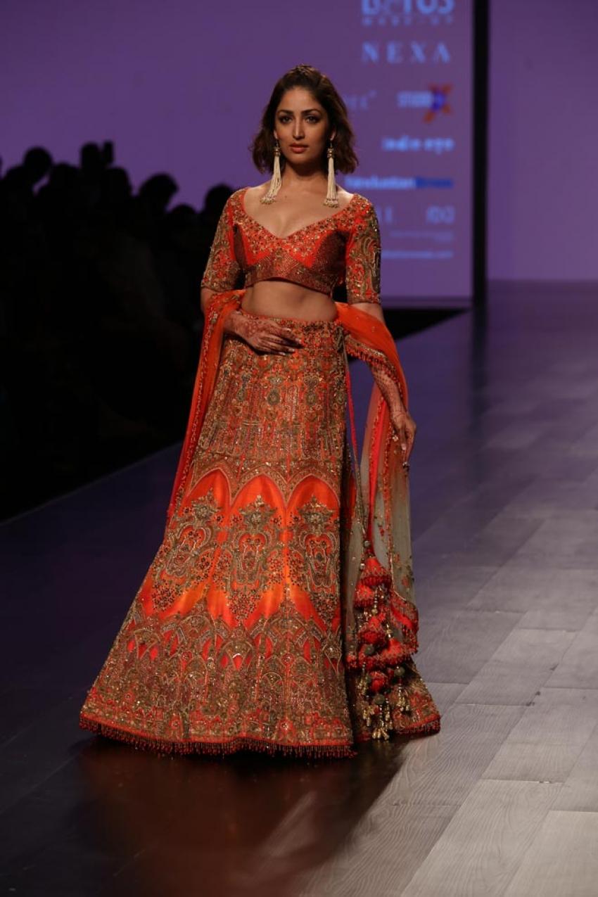 Bollywood Celebs Walks Ramp at Lotus India Fashion Week 2018 Photos