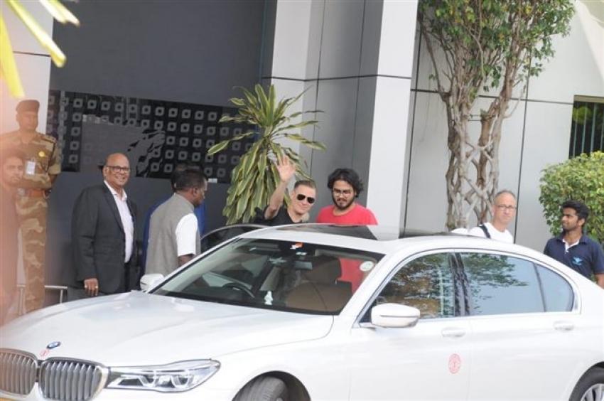 Photo of Bryan Adams  - car