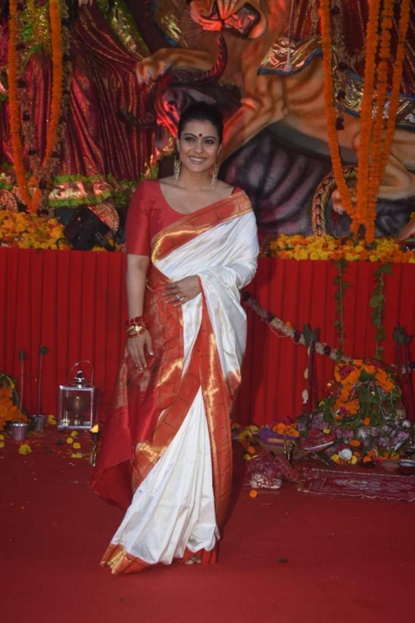Bollywood Celebs At Durga Pooja 2018 Photos