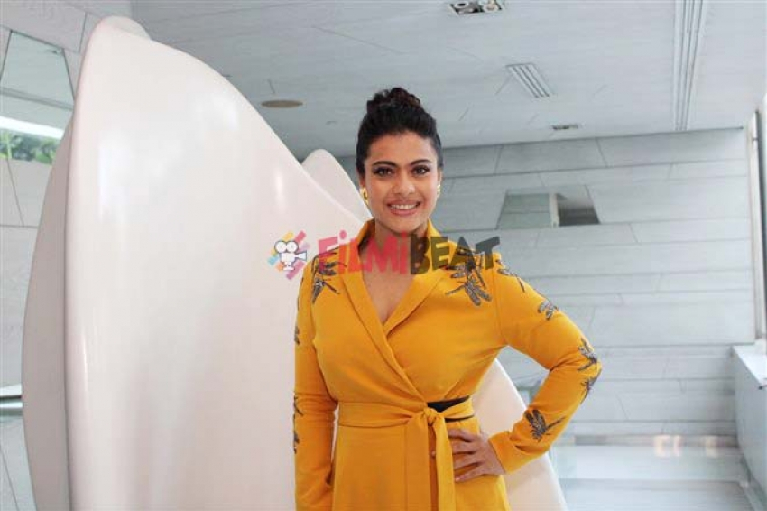 Kajol and Riddhi Sen Promote Helicopter Ela In New Delhi Photos