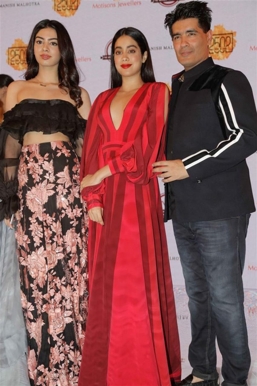 Kiara Advani & Kartik Aaryan Showstopper For Manish Malhotra Show Photos