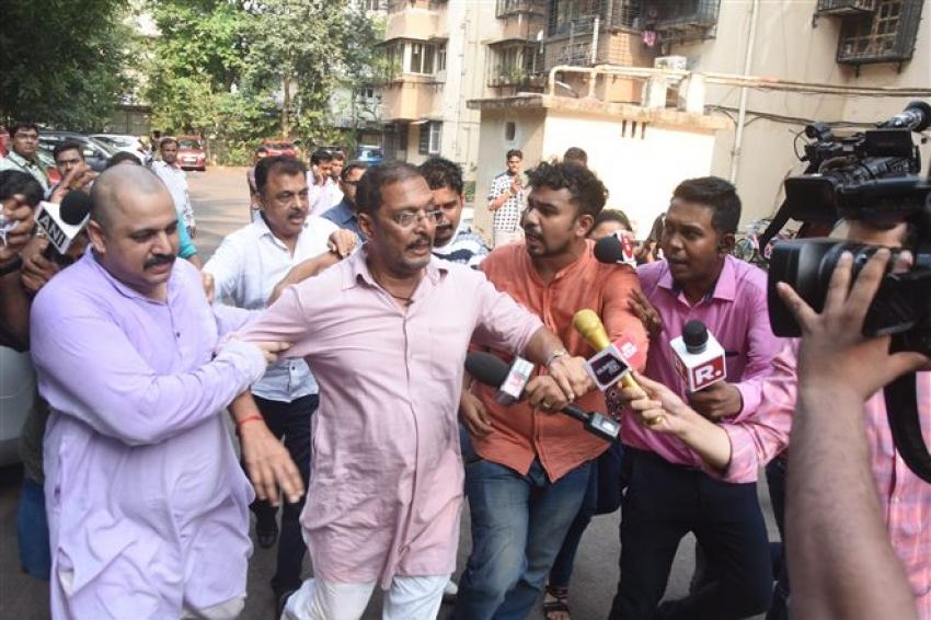 Nana Patekar's Press Conference after Tanushree Dutta's Allegations Photos