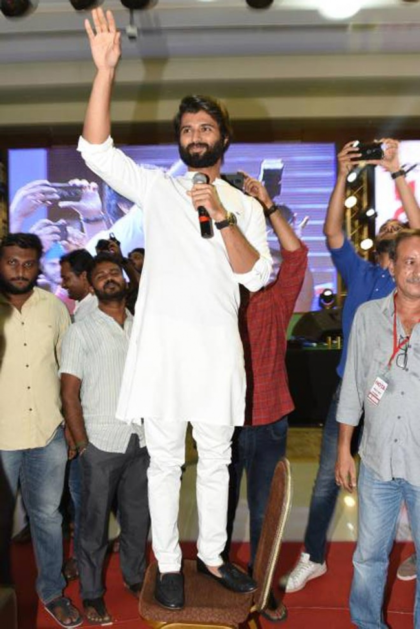 Nota Movie Public Meet At Vijayawada Photos