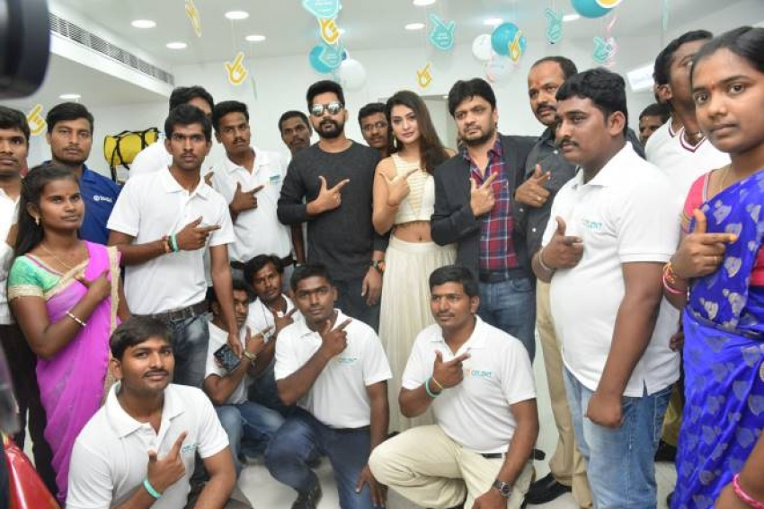 Payal Rajput Inaugurated Celekt Mobile Stores Photos