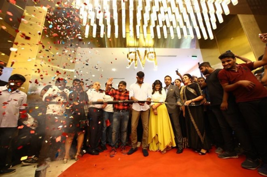 PVRIcon Officially Opened By Vishal With Premiere Of Sandakozhi 2 Photos