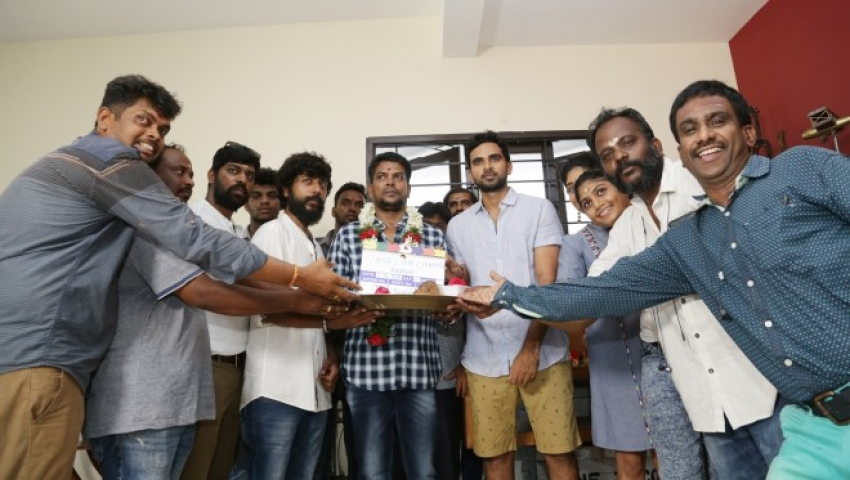 Redrum Movie Pooja Photos
