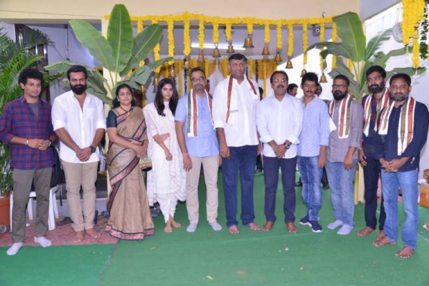 Sai Dharam Tej And Mythri Movie Makers Chitralahari Movie  Launch Photos