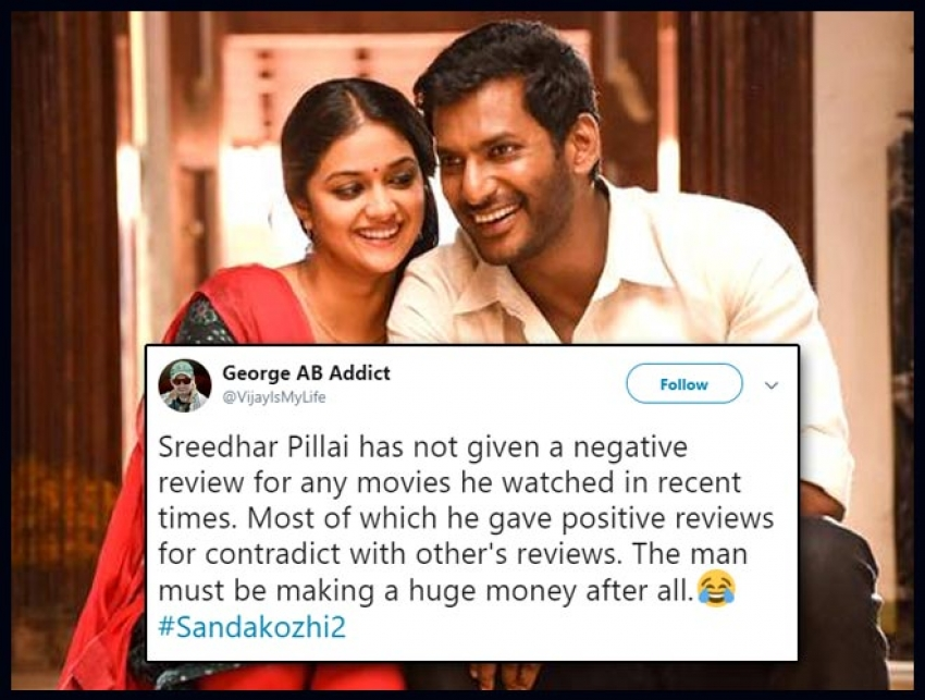 Sandakozhi 2 Movie Twitter Audience Reaction Photos