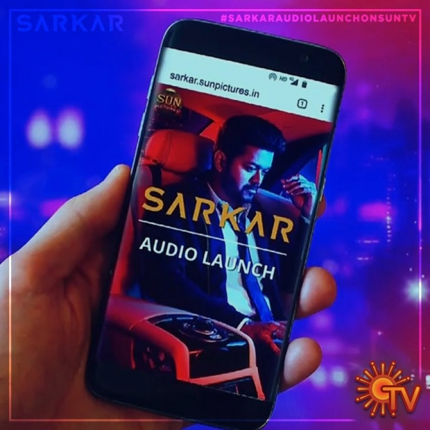 Sarkar Audio Launch Photos