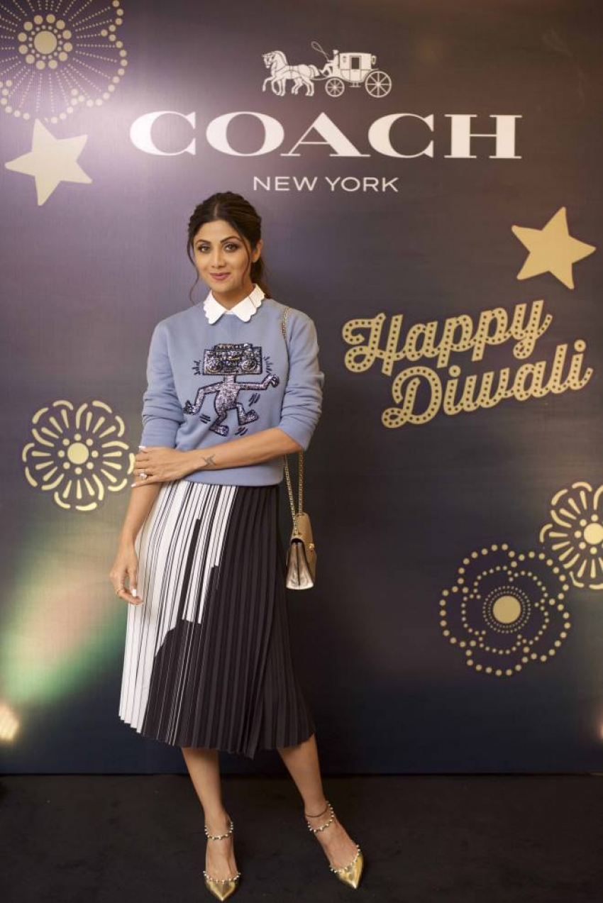 Shilpa Shetty At Launch of Coach Photos