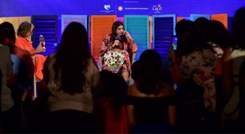 Sonam kapoor at Vogue We the Women Event In Bangalore Photos