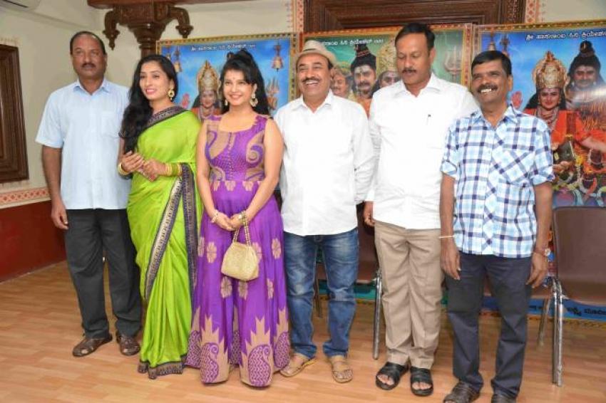 Sri Hasanamba Mahime Movie Press Meet Photos