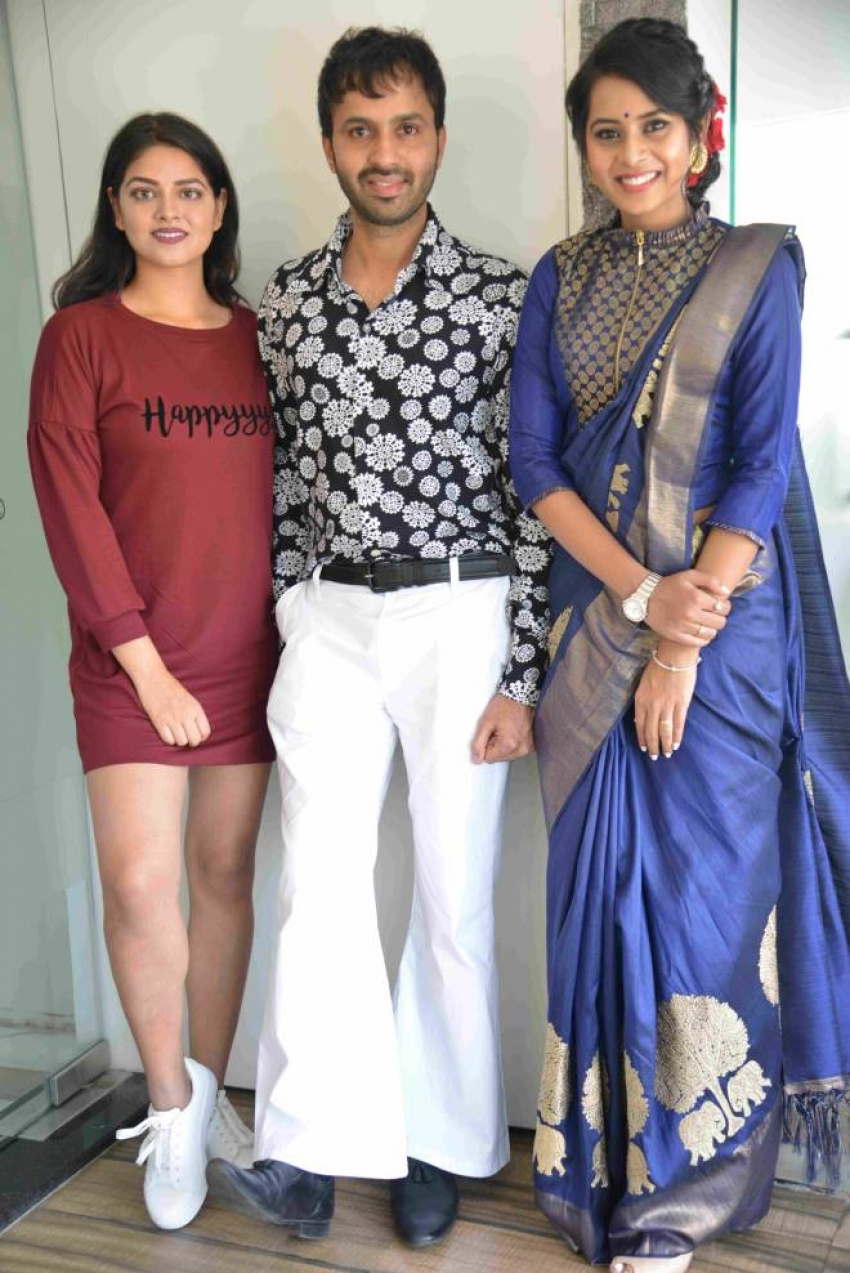 Swartharatha Movie Press Meet Photos