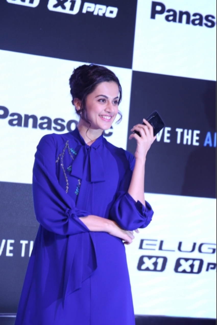 Taapsee Pannu At Panasonic Phone Launch Event Photos