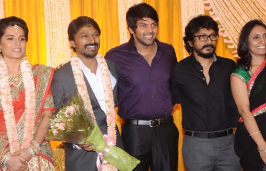 Tamil Actor Arya Family Photos