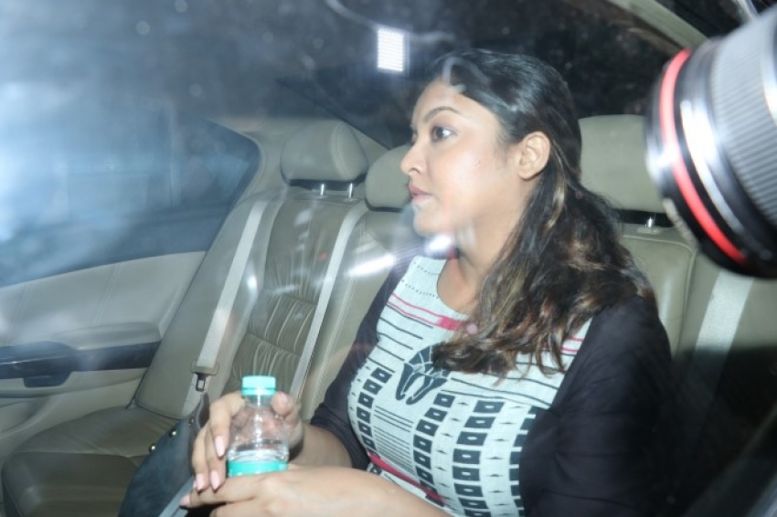 Tanushree Dutta at Oshiwara Police station, Mumbai Photos