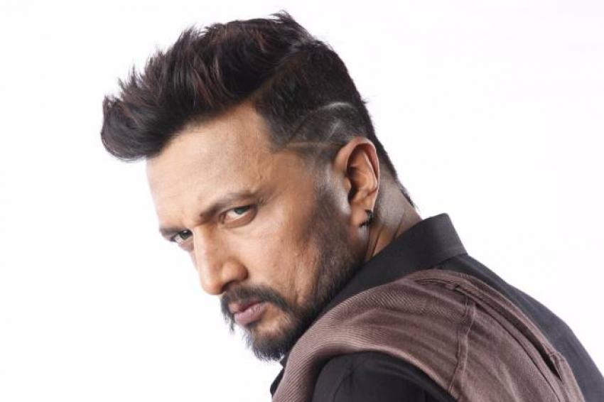 Birugali In The Villain Kannada Set Ll Kiccha Sudeep Shivanna Prem