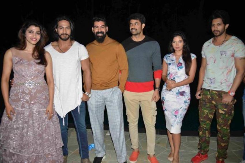 Udgarsha Movie Press Meet Photos