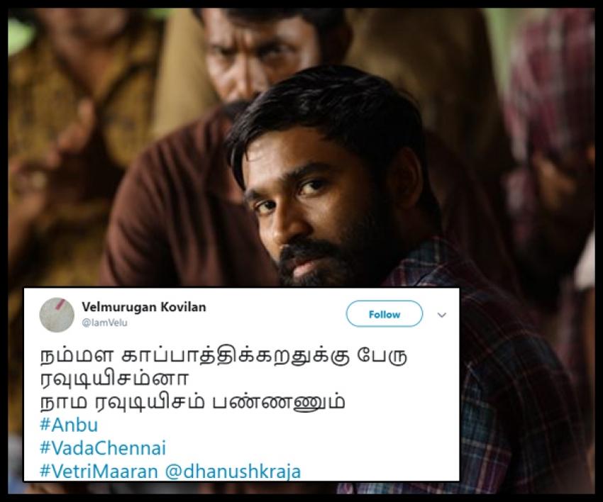 Vada Chennai Twitter Audience Reaction Photos