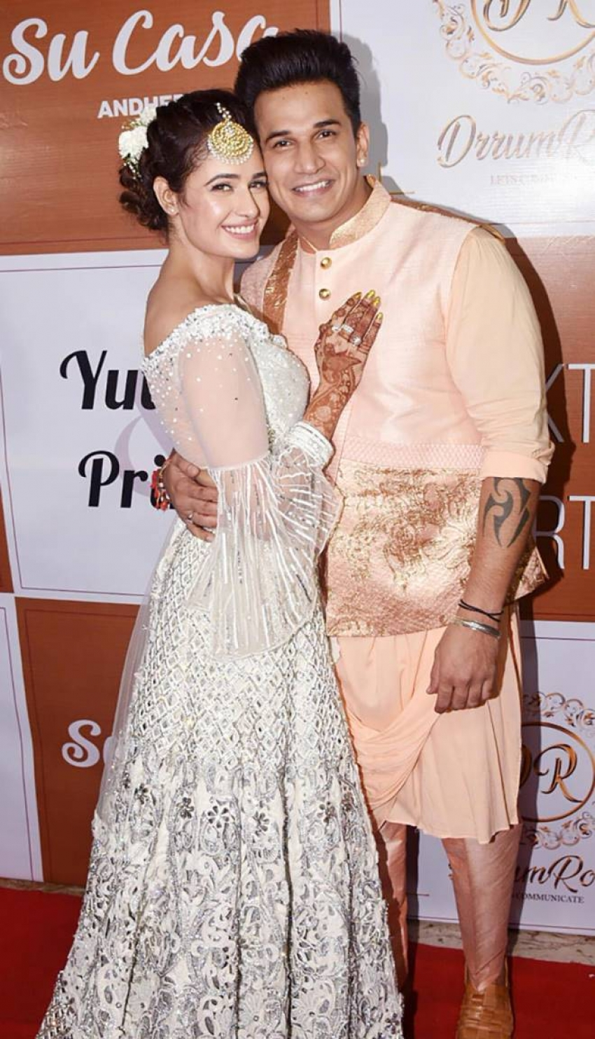 Yuvika Chaudhary And Prince Narula Sangeet Ceremony Photos