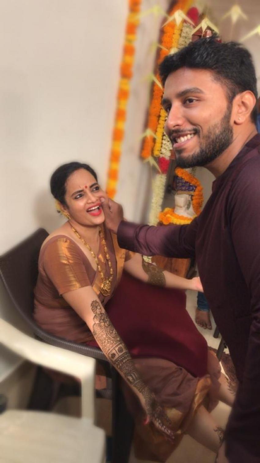 Actor Sivakumar and Actress Suja Varunee Marriage Photos