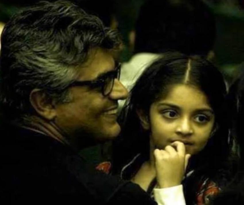 Actor Thala Ajith Family Photos