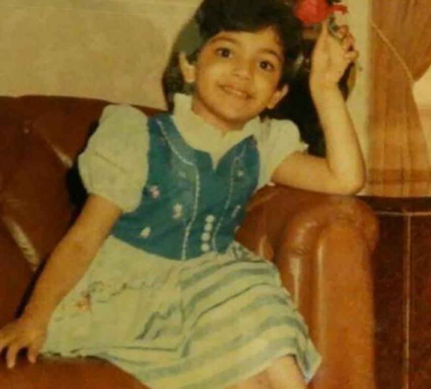 kajal-aggarwal-childhood-photo
