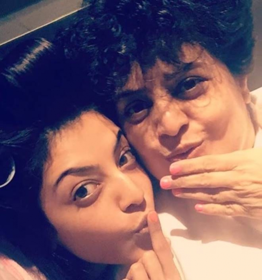 Actress Kajal Agarwal Family Photos
