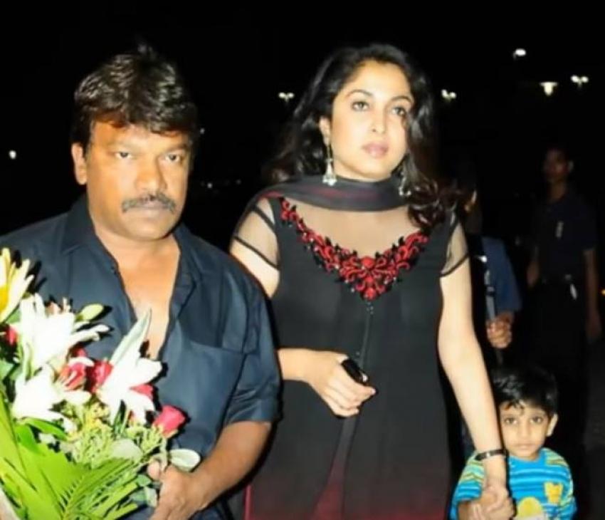 Actress Ramya Krishnan Family Photos