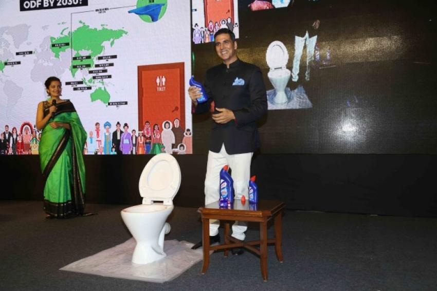 Akshay Kumar At World Toilet Summit Photos