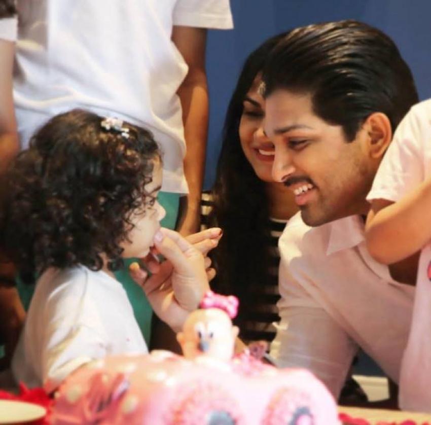 Allu Arjun Daughter Allu Arha 2nd Birthday Celebration Photos