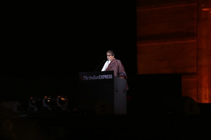 Amitabh Bachchan at 10th anniversary of 26/11 terror attacks Photos