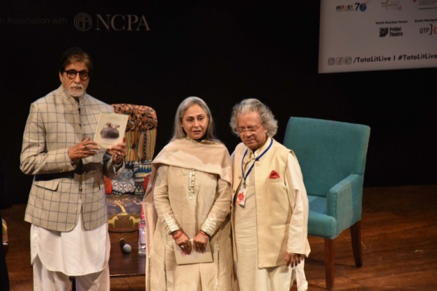 Amitabh Bachchan and Jaya Bachchan At The Launch Of Siddharth Shanghvi's Book 'The Rabbit & The Squirrel' Photos