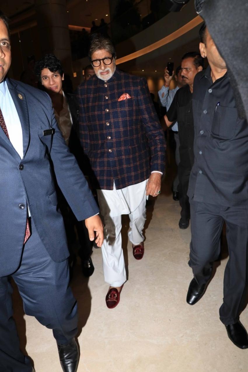 Amitabh Bachchan Launches Avitesh Shrivastava's single 'Main Hua Tera' Photos