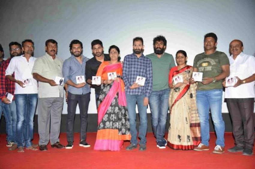 Ananthu V/S Nusrath Movie Audio Launch Photos